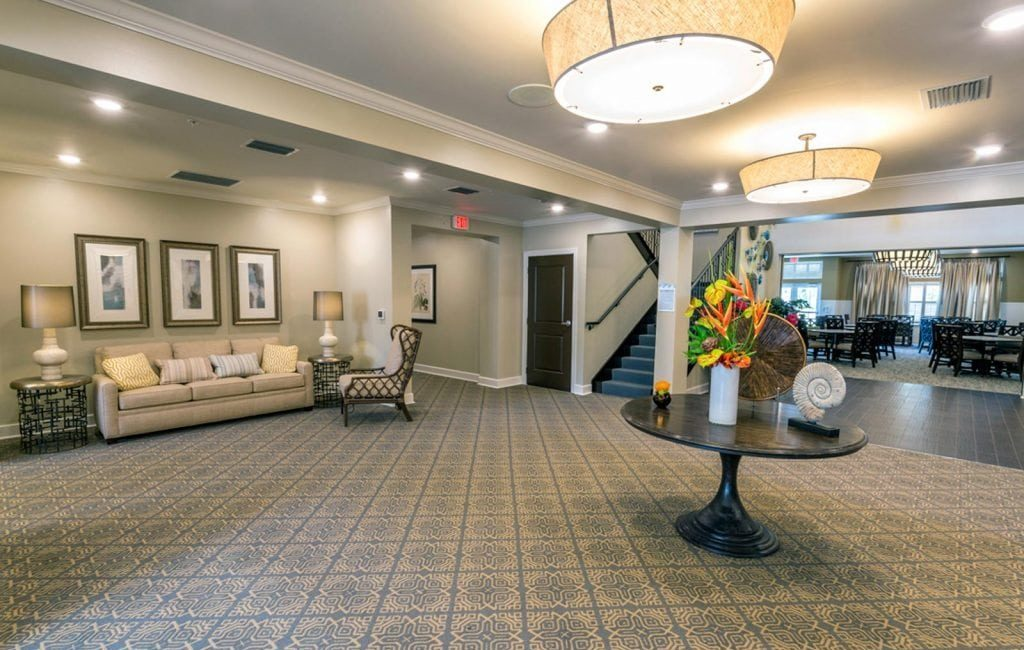 The Crossings Lobby area