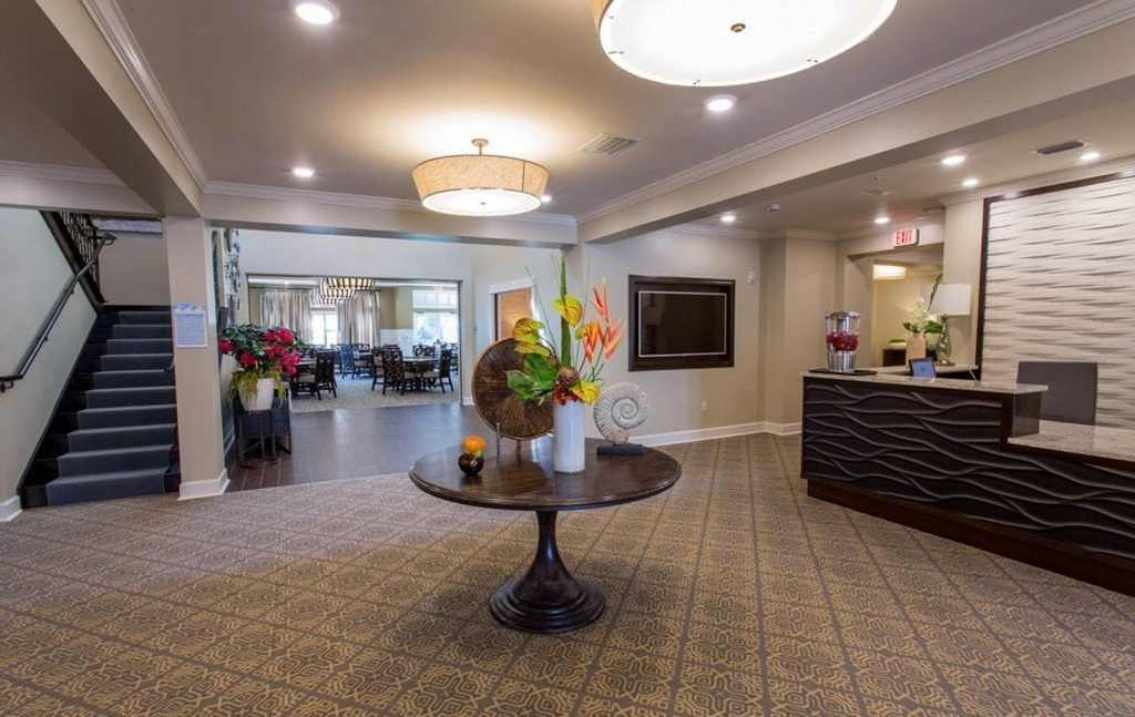 The Crossings Reception Area