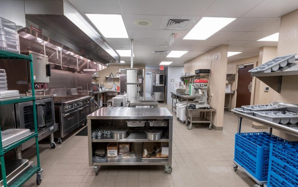 The Crossings Kitchen Area
